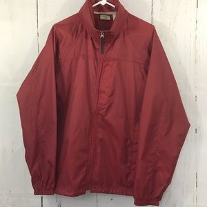 LL BEAN Stowaway light rain jacket
